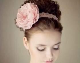 Свадебные прически для волос средней длины фото
