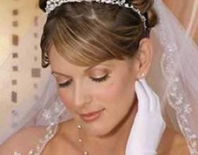 Свадебные прически на средние волосы с фото фото