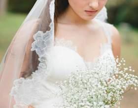 Свадебные прически с длинной фатой фото