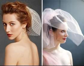 Свадебные прически с фатой — как стать королевой дня фото