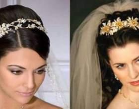 Свадебные прически с фатой – классика жанра фото