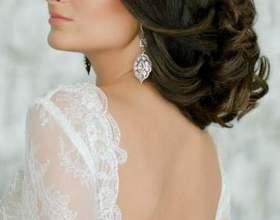 Свадебные прически с косой челкой фото