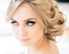 Свадебные прически с косой (фото) фото