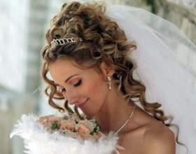 Свадебные прически с кудрями фото