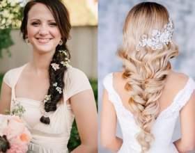 Свадебные причёски с аксессуарами. Фото фото