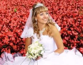 Свадебные причёски с диадемой и фатой фото