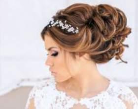 Свадебные причёски с диадемой сделают образ особенно торжественным и нежным! фото