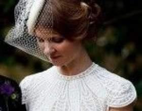 Свадебные причёски в винтажном стиле на короткие волосы (до плеч) фото