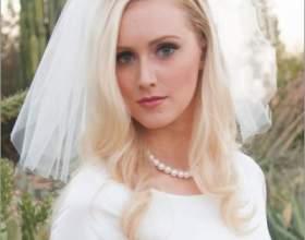 Свадебные средние прически с короткой фатой фото образы фото