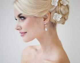 Свадебные украшения для волос 2012, фото фото