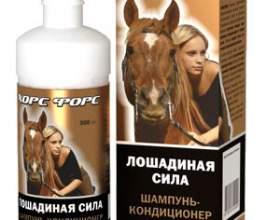Свойства шампуня «лошадиная силфото