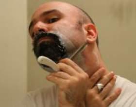 Технология бритья опасной бритвой фото