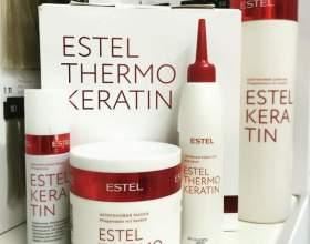Термокератин от эстель: особенности, отзывы, видео фото