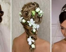 Топ-5 модных свадебных причесок на длинные волосы фото
