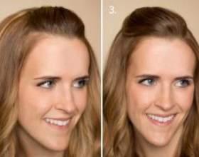 Топ 6 способов как уложить длинную челку в домашних условиях фото