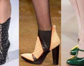 Трендовая обувь осень-зима 2015 фото