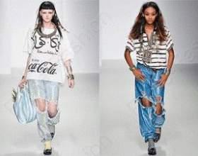 Трендовые дамские джинсы лето 2015 фото