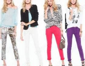 Трендовые джинсы осень-зима 2015 фото
