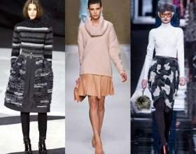 Трендовые юбки осень-зима 2015: фасоны, фото фото