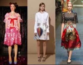 Трендовые юбки весна лето 2015 фото