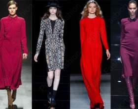 Трендовые платья осень-зима 2015 фото