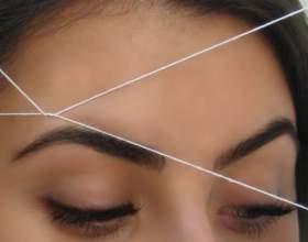 Удаление волос с помощью нитки фото