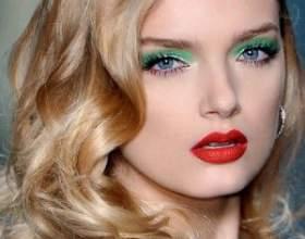 Уроки макияжа для зеленых глаз фото