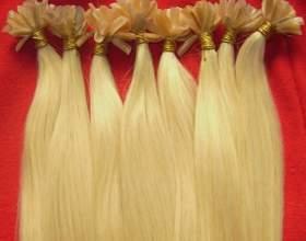 Волосы детской структуры для наращивания фото