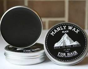 Воск для волос мужской — обзор типов продукции и способы применения фото