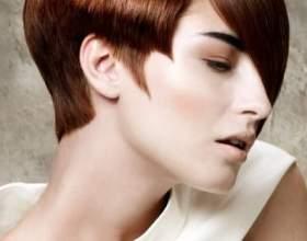 Выбор асимметричной стрижки для коротких волос фото