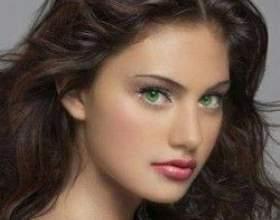 Выбор цвета волос для зеленых глаз фото