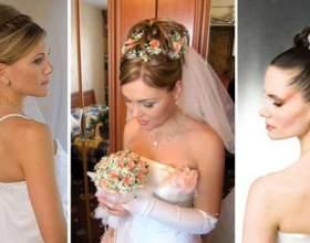 Высокие свадебные прически: кому пойдет классика жанра? фото